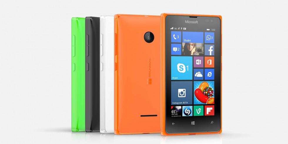 The Lumia 532.