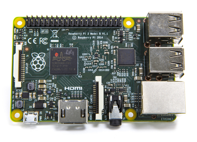 The Raspberry Pi 2, which will run Windows 10, or at least, a version thereof.