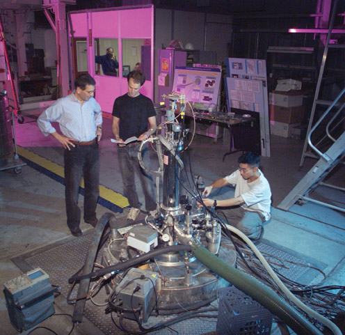 An axion detector gets a once-over from some physicists.
