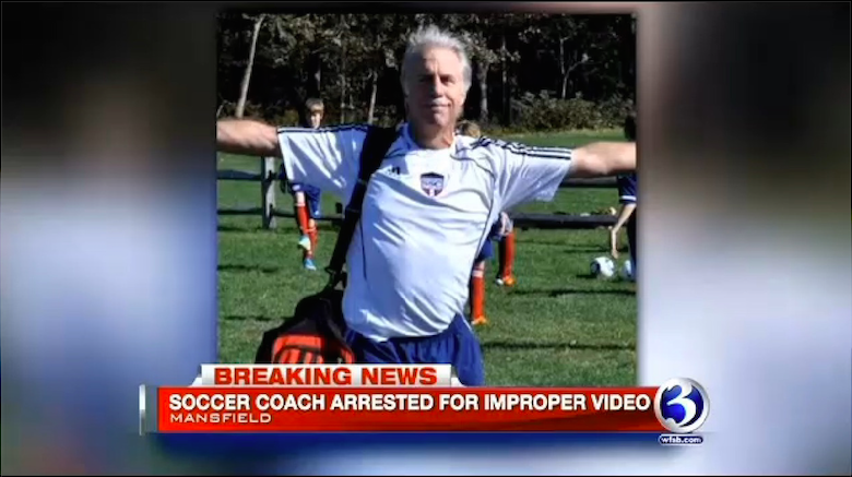 The story was big news in local media, as this image from WFSB-TV shows.