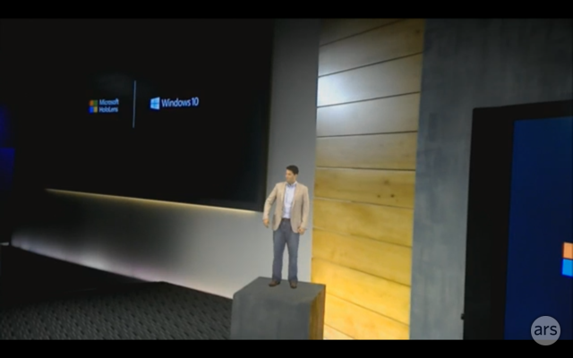 Behold, Holographic Microsoft Executive Terry Myerson.