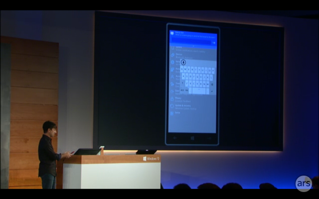 Dragging the software keyboard around will be useful on larger screens.