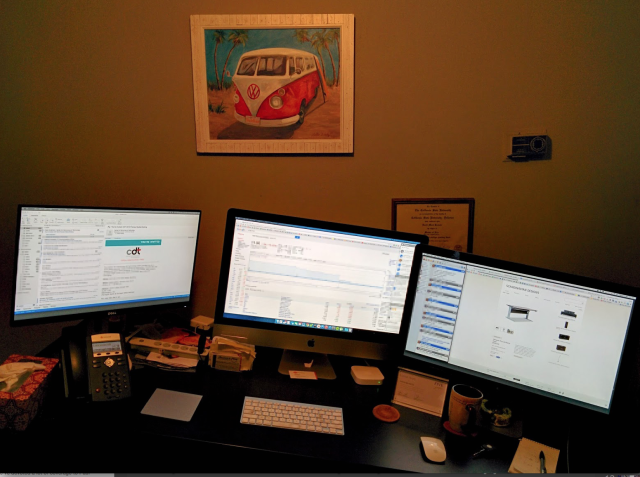 Welcome to my sit-stand desk nightmare