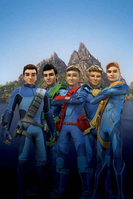 Thunderbirds revamped characters revealed