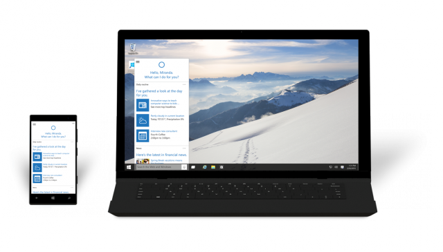 Windows 10 brings Cortana to the desktop