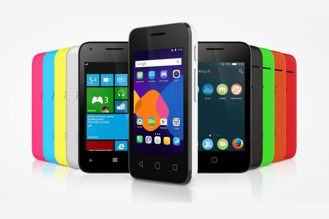 Alcatel's Pixi 3 phones come in four sizes with your choice of three OSes