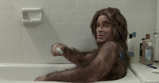 Disclaimer: Crazy Hairy Rob Lowe not representative of all cable customers.
