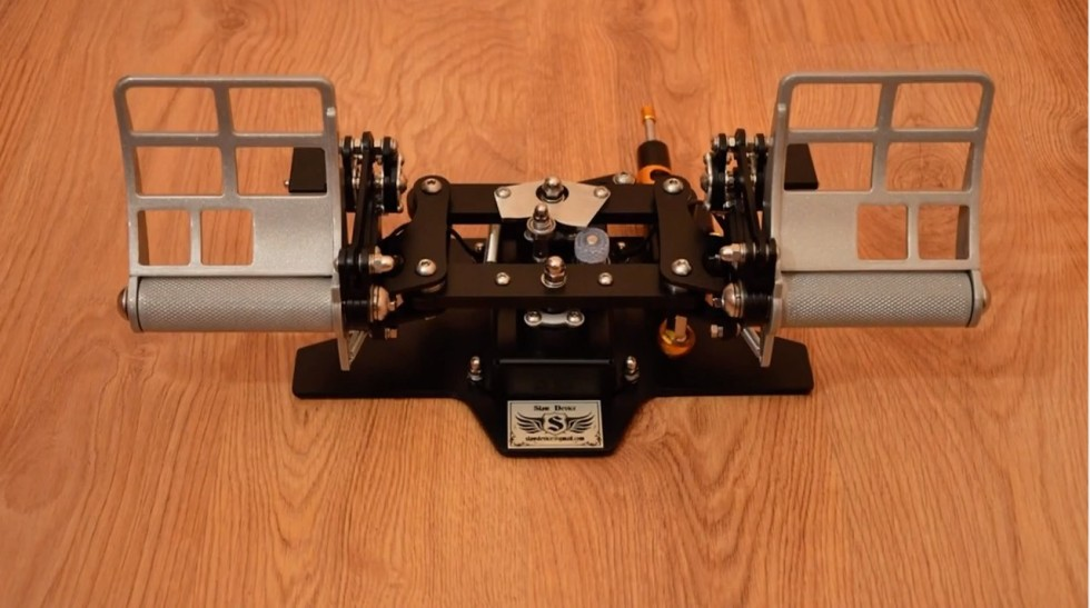 Coming in 2015 from Slaw Device: F-16-style pedals.