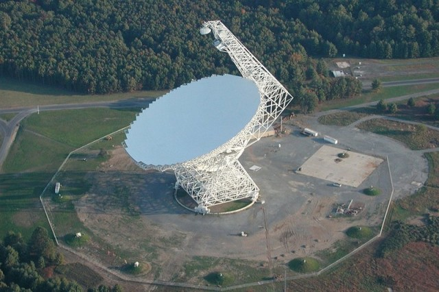 The Robert C. Byrd Green Bank Telescope.