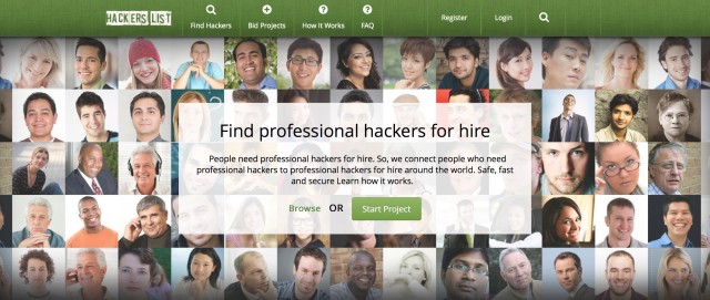 Want to spy on your wife? Change your grades? Hire a hacker!