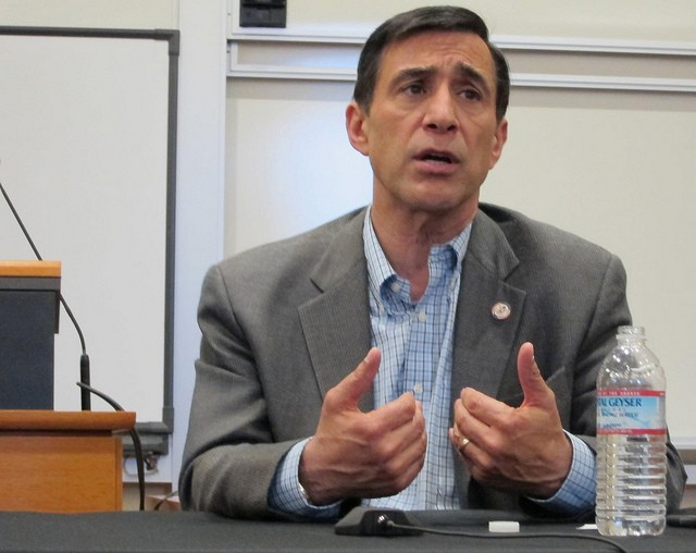 Rep. Darrell Issa (R-California) is forming the Congressional Caucus on the Internet of Things.