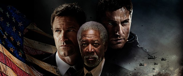 The stars of Olympus Has Fallen.