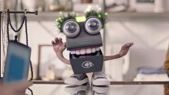 """""""Tappy,"""" the Softcard mascot."""
