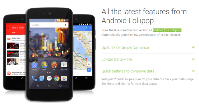 new version android mobile android 5 1 is here and coming to android one phones 21910