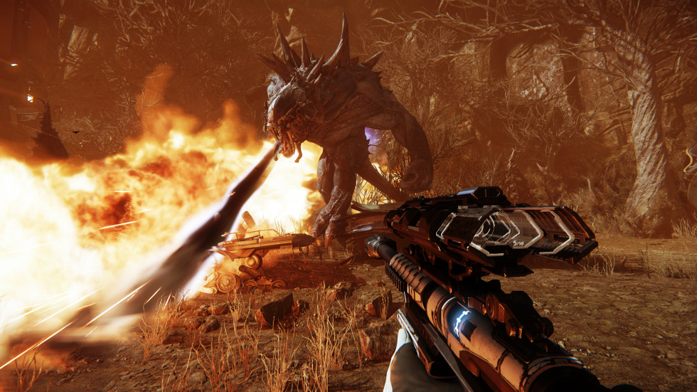 Evolve pre-release impressions: Finding balance in asymmetry