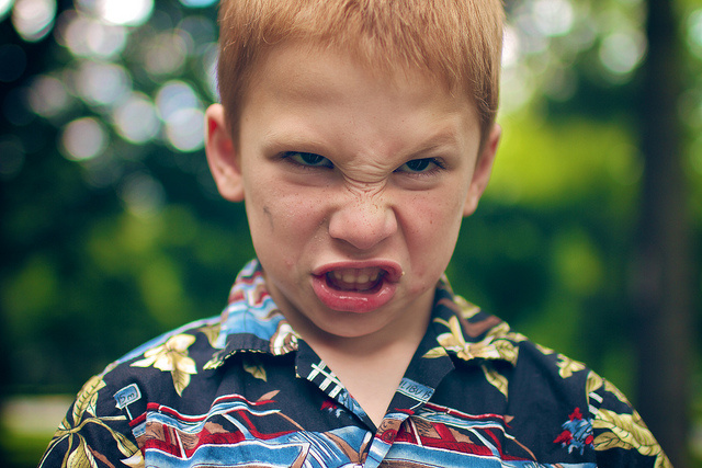 How you respond to angry faces could be influenced by chemical modifications of your DNA.