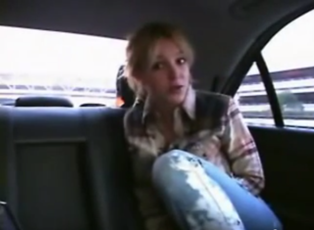 Smartflash was briefly promoted by Britney Spears, seen here in a UK commercial for the product that was shown to the jury. The arrangement fell apart when Spears' European tour was canceled following the September 11 attacks.