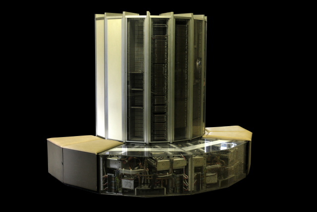 Old-school big data machine: a CRAY-1 supercomputer.