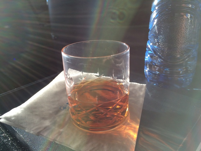 Endless Courvoisier makes any flight a good flight.
