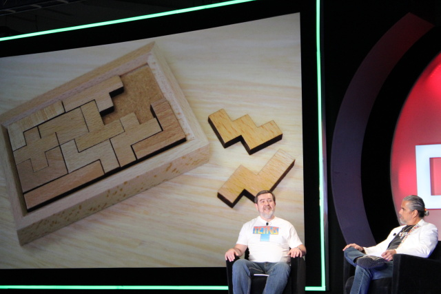 In a rare public discussion at DICE 2015, Alexey Pajitnov talks about pentominoes (and other origins of <em>Tetris</em>.