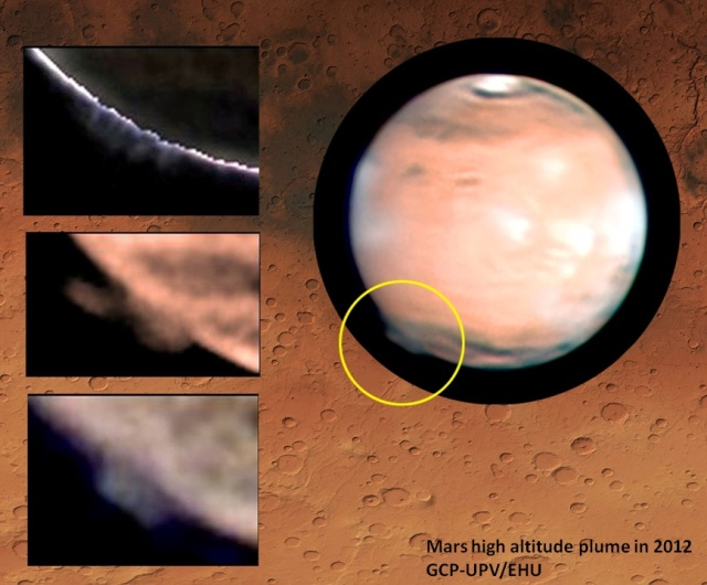 Strange show spotted high above Mars' surface remains mysterious