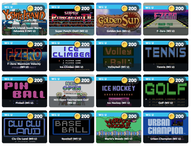 Nintendo is offering up a heap of games to help Club Nintendo members spend their last coins.