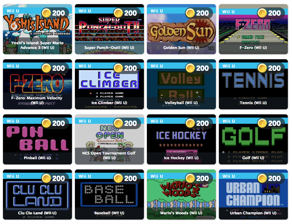 full list of nes games