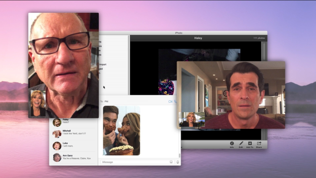 Modern Family episode takes place entirely on OS X desktop