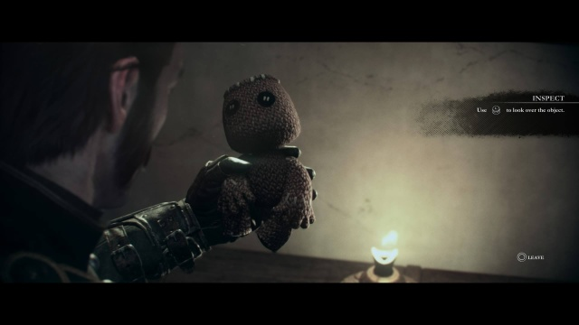 "Studying and rotating a Sackboy is about as ""interactive"" as <em>The Order: 1886</em> gets, at least in this author's opinion."