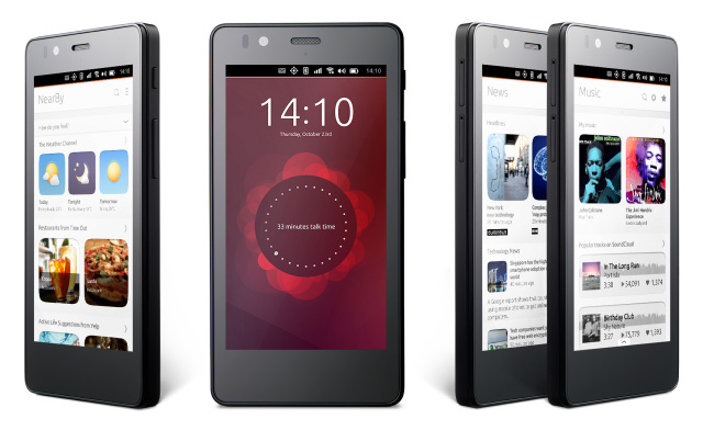 The first Ubuntu phone will finally go on sale next week