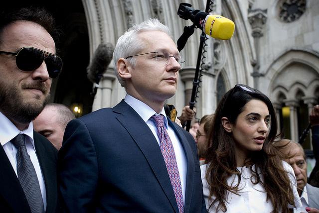 UK spent $15.6 million guarding embassy housing Julian Assange
