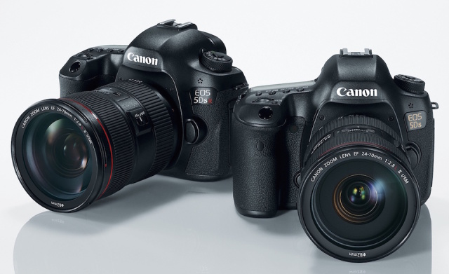 The Canon 5DS R and Canon 5DS