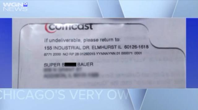 "Comcast customer says she got a bill addressed to ""Super Bitch"""