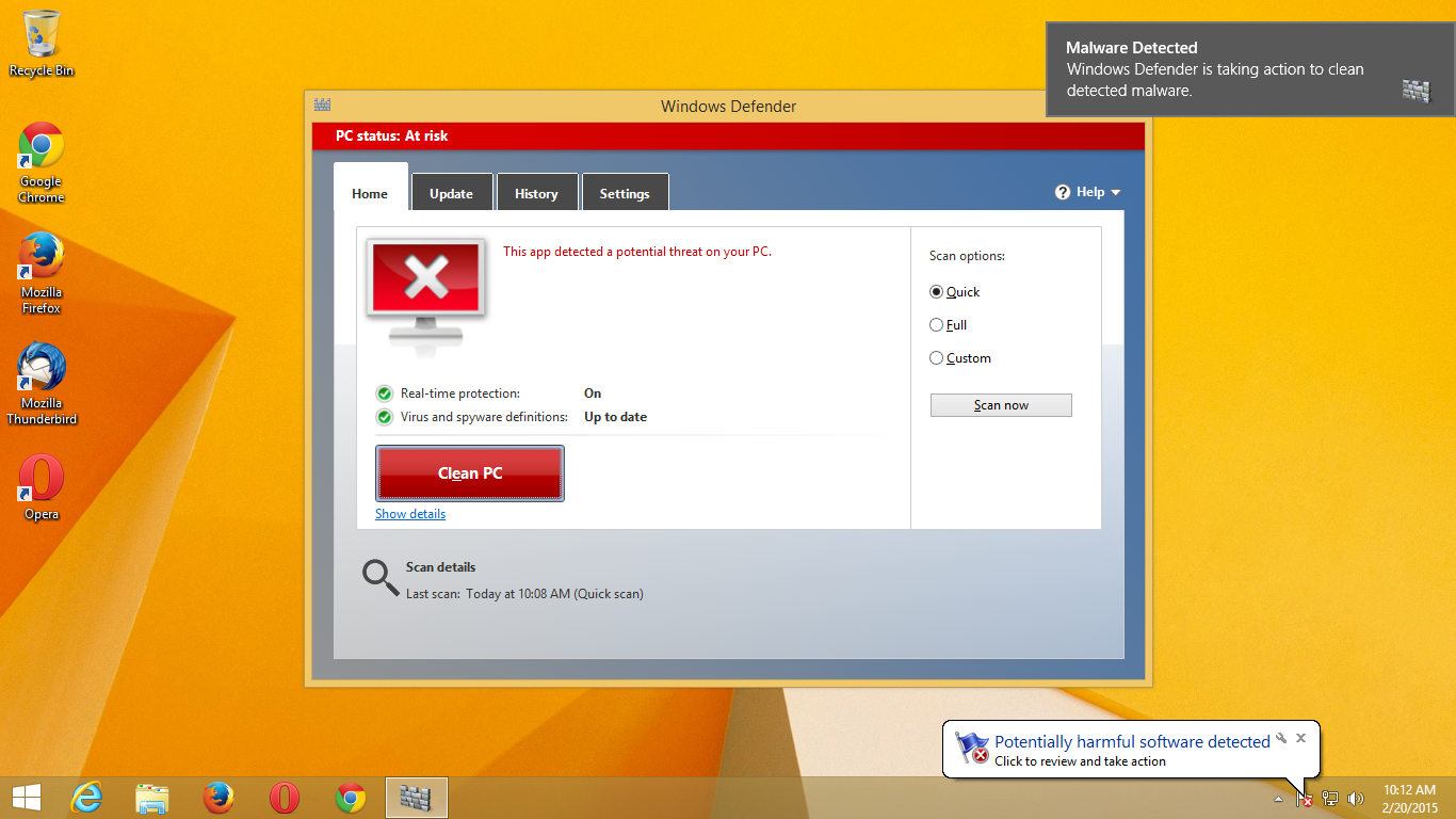 Windows Defender now removes Superfish malware… if you're lucky | Ars Technica