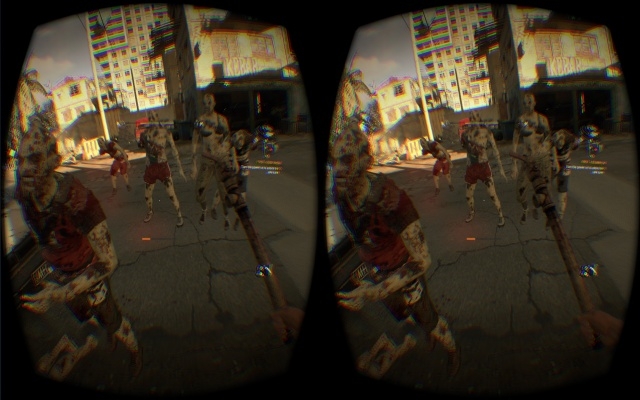 Zombies aren't scary. You know what's scary? Sidestepping in VR.