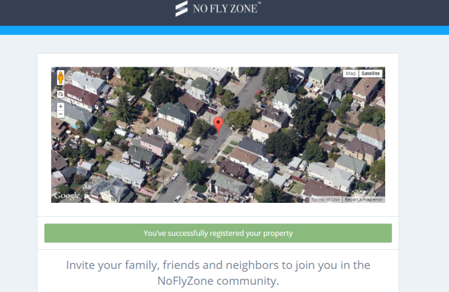 NoFlyZone database will tell drones not to fly over your house