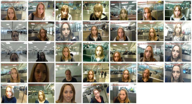 Every photo taken of Runa by the Department of Homeland Security between 2010 and 2014.