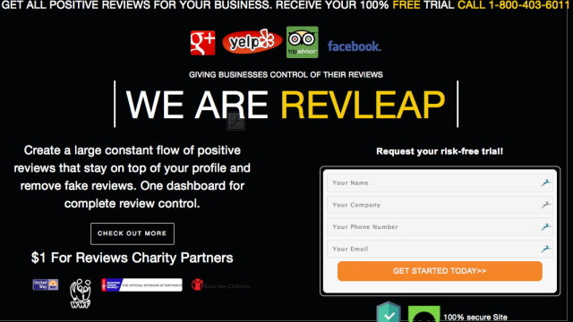 "Yelp sues startup that claims it can facilitate ""all positive reviews"""