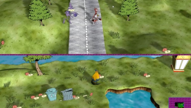 Toejam & Earl return in 3D! Kind of.