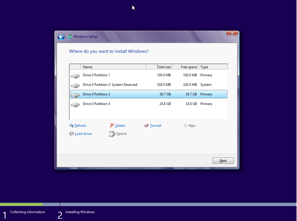 windows 8 os installation steps pdf