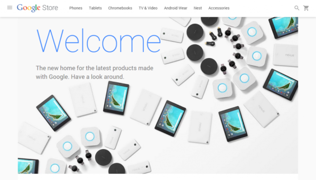 Google launches the Google Store, a new place to buy hardware [Updated]