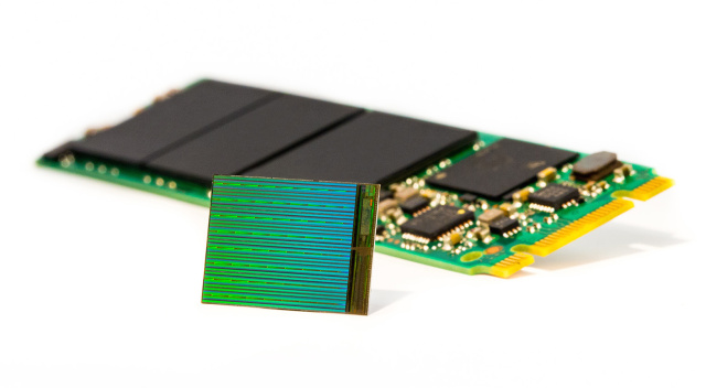 Intel and Micron's new 3D NAND promises big capacities for little SSDs.