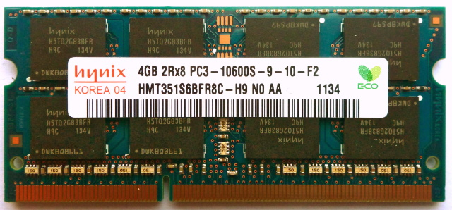"DDR3 DIMMs like this one are susceptible to a hack known as ""rowhammering,"" which alters the contents stored in computer memory."