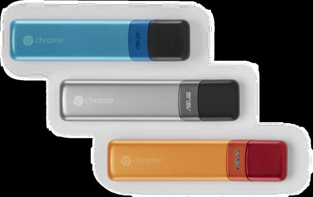 The Asus Chromebit is half Chromebox, half Chromecast.