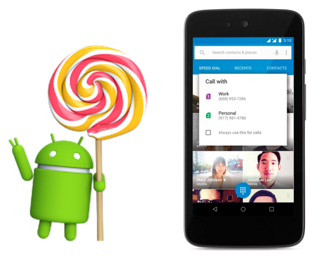 Google officially announces Android 5.1
