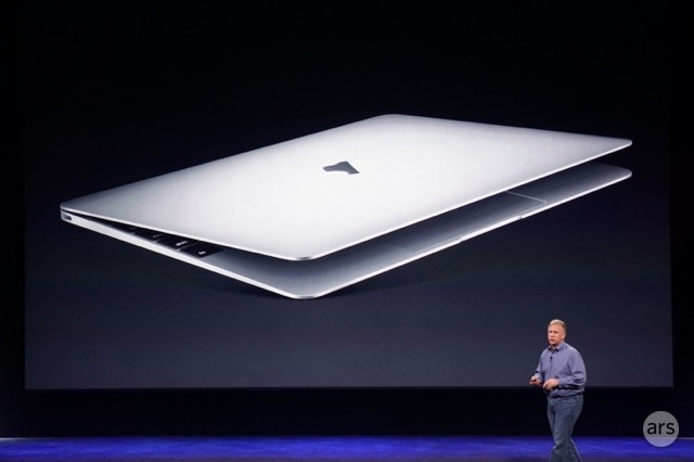 "The new MacBook. No Pro, no Air, just plain ""MacBook."""