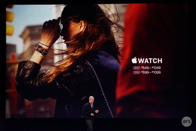 Apple Watch starts at $349, launching April 24
