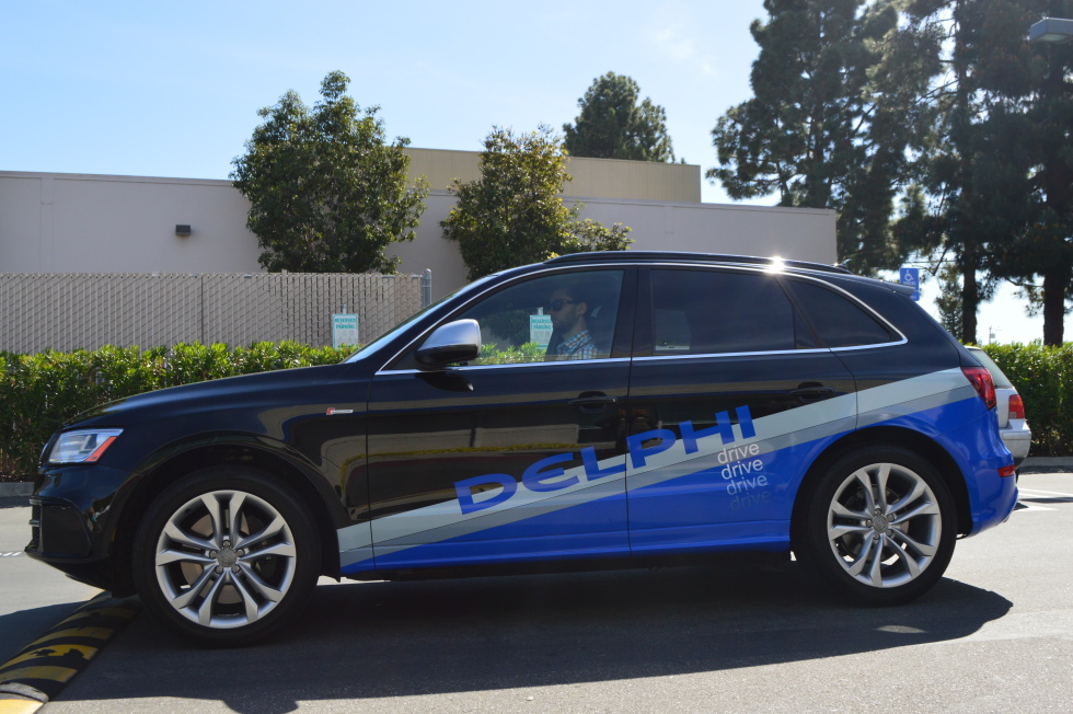 Last year, Delphi demoed a self-driving car that drove across the country autonomously.