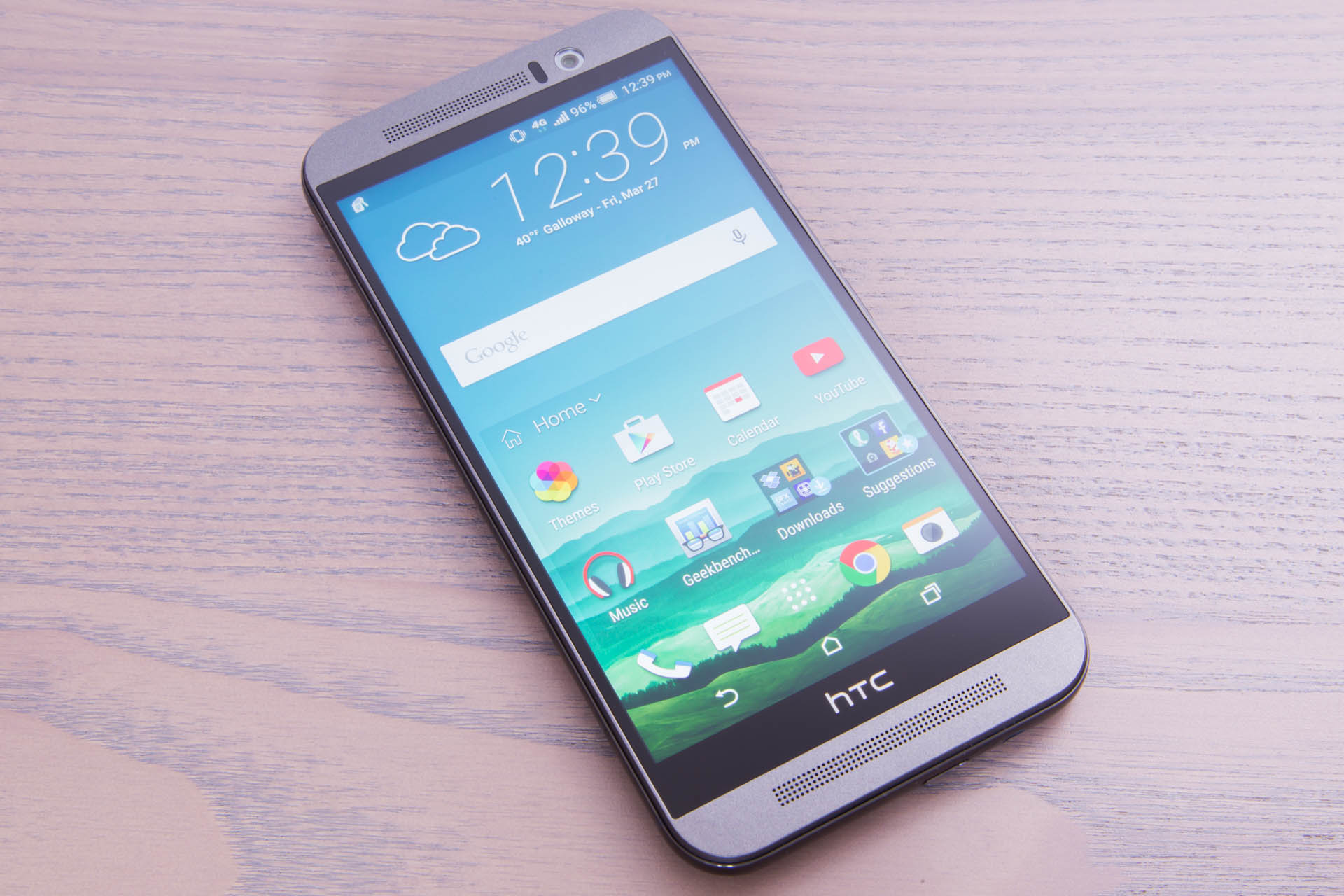 The HTC One M9.