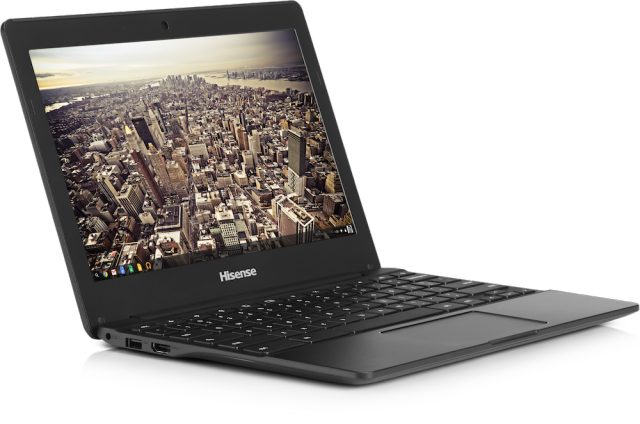 The Hisense Chromebook is one of the first $149 laptops with Chrome OS.